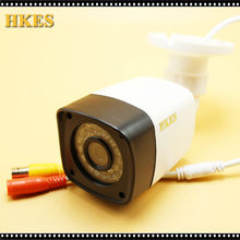 HKES 1000TVL High resolution CCTV Camera IR Cut 30Pcs IR Led Hour Day/Night Vision IP66 Outdoor Bullet video Surveillance Camera
