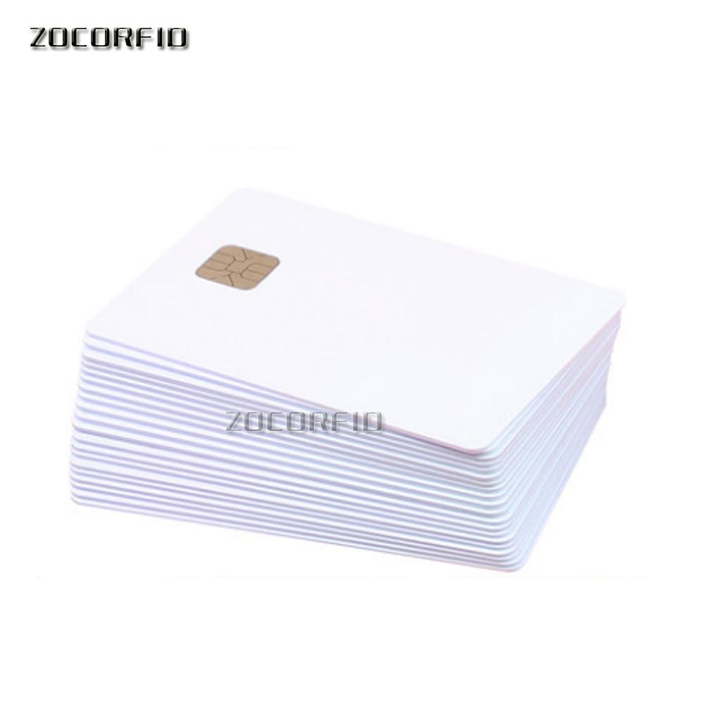 Sle4428/SLe4442 Chip Proximity RFID Card Tag 0.76mm Thin Contact IC Card