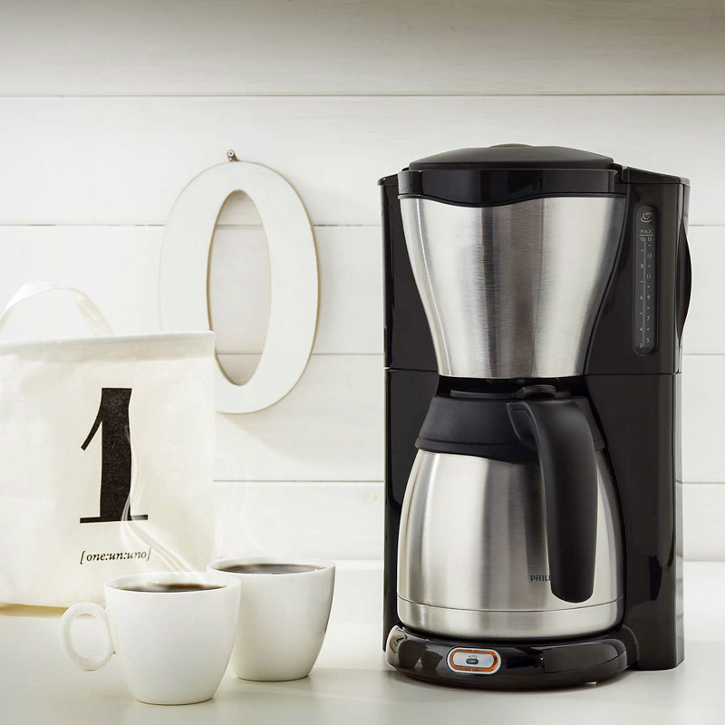 coffee maker USES the American stainless steel semi-automatic drip potcoffee maker USES the American stainless steel semi-automatic drip pot