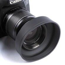 67 мм 3-этап Резина бленда для Canon Nikon Sony Pentax Olympus DSLR 67 мм объектив