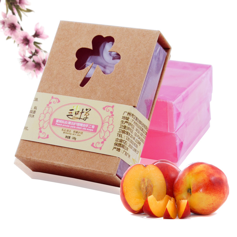 100g Soaps For Her Springtime Soap Scents All Natural Shea Butter Peach Handmade Soap Privates Part Cleaning Nursing Bath Soap