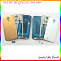 full housing cover case for samsung galaxy s4 i9500 i9505 i337 i545 i959  back cover middle plate front housing  with button