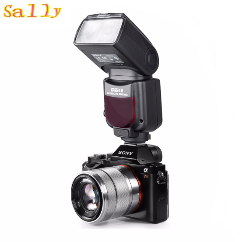 MEIKE MK-930 II LCD GN58 Flash Speedlite for Sony MI Hotshoe Camera for A7 A7R A7S A7 II A7R II A7S II A6300 A6000 ph 03 ii c for cheese