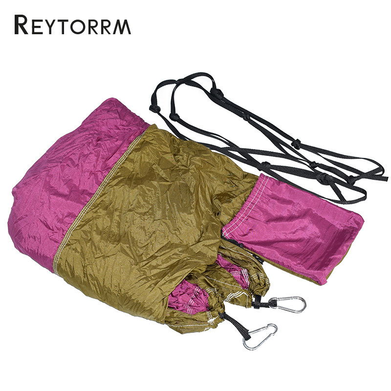 Ultralight Travel Parachute Hammock With Straps Carabiners Hanging Sleeping Hamac 1-2 Person Outdoor Hamak Furniture Bed