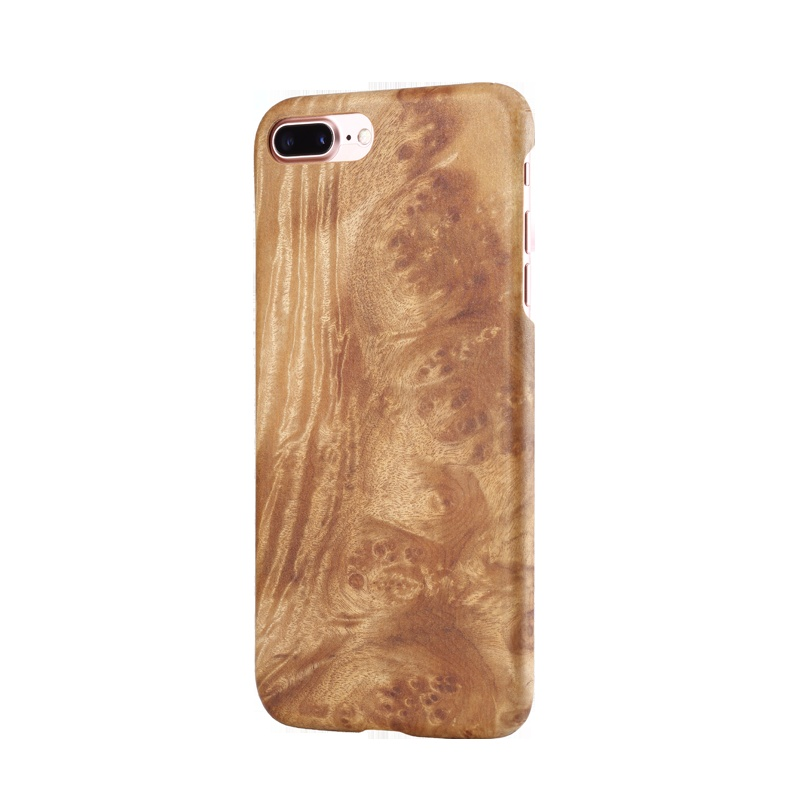 Natural Wooden phone case FOR Iphone 7 For iphone 7 plus case cover Fragrant wood tree pomegranate Chicken wing wood Rosewood in Fitted Cases from Cellphones Telecommunications