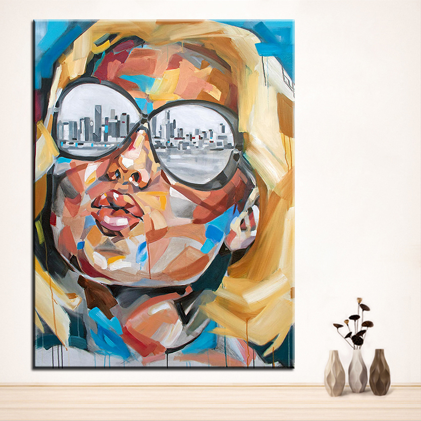 Large size Printing Oil Painting miami Wall painting Home Decorative ...