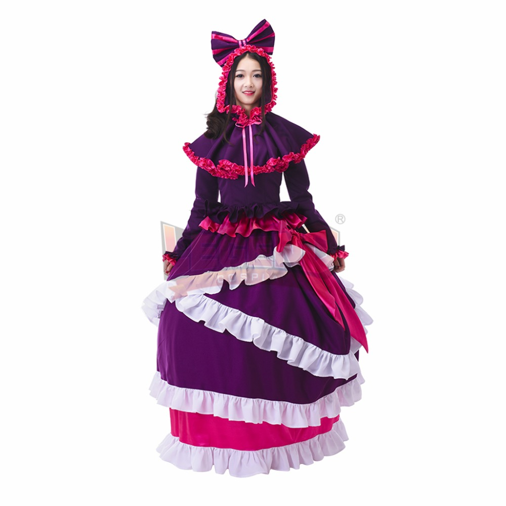 Cosplay legend OVERLORD shalltear bloodfallen Cosplay adult costume Custom Made full set all size