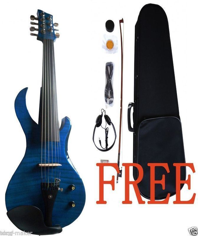 7 string 4 4 electric violin powerful sound solid wood guitar shape yinfente in violin from. Black Bedroom Furniture Sets. Home Design Ideas