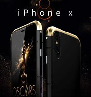 Luxury For Apple IPhone X Case 360 Full Protection 3 In 1 Aluminum Metal PC Hard