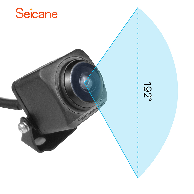 Seicane HD Car Parking Backup Camera Reversing Camera With 192 Degree Horizontal View Field Build-in Mirror Function