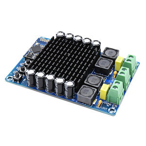 Image 3 - XH A102 New 4.1 HD Bluetooth TDA7498 DC12 24V 100W + 100W  high power digital amplifier board B6 002
