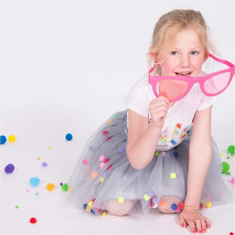e182e8946 € 5.78 20% de DESCUENTO|Aliexpress.com: Comprar Nuevo Bebé niñas Tutu  faldas niños elástico cintura Pettiskirt princesa Tulle falda colorida ...