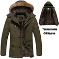 4XL 5XL Winter Jacket Men Brand-Clothing Thickening Long Warm Parka Winter Coats Fleece/Velvet Windbreaker Jackets Men DJ02602