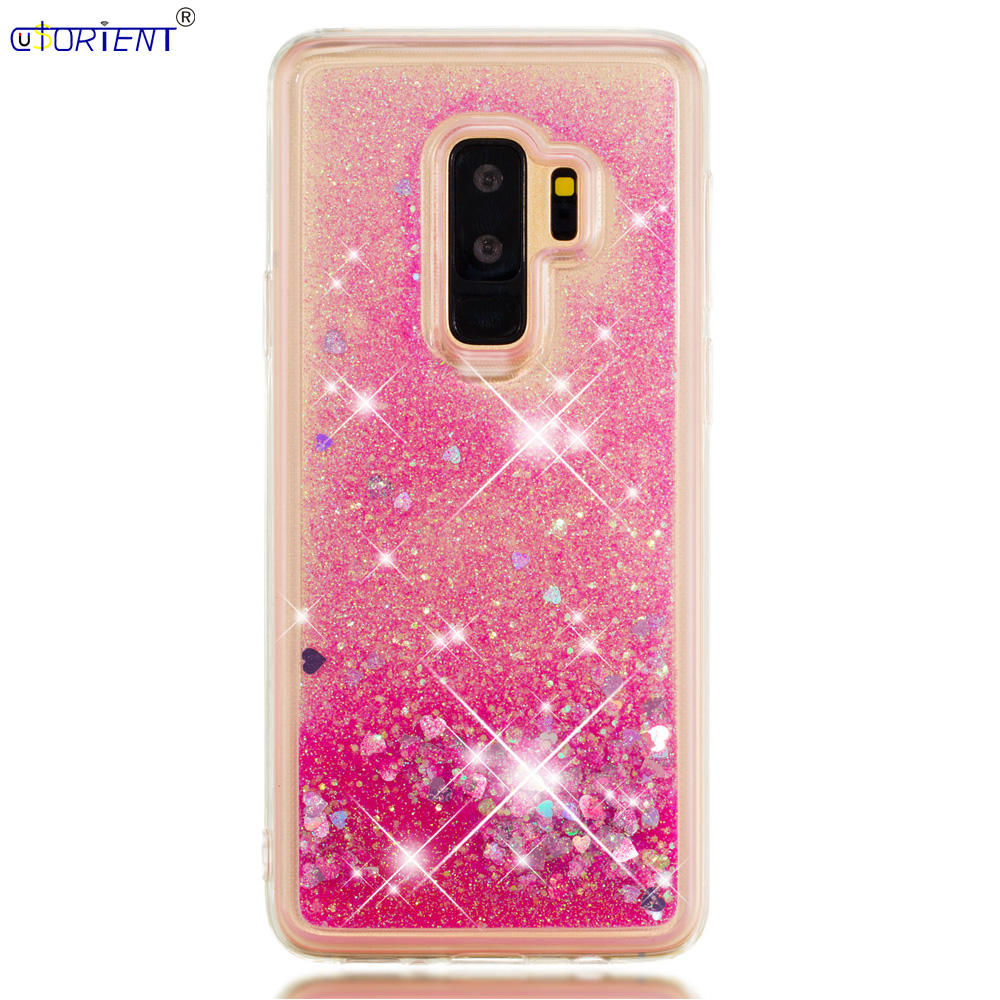 S9 Plus Dynamic Liquid Quicksand Back Case Sm G965f G965f/ds G965n G965u Soft Silicone Bumper Cover Phone Bags & Cases Temperate Funda For Samsung Galaxy S9 Cellphones & Telecommunications
