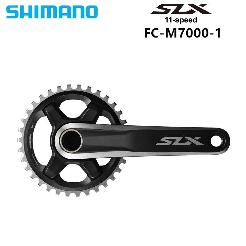 Pédalier Shimano DEORE SLX FC M7000 HOLLOWTECH II M7000 1x11-Speed 32 T 34 T 170 MM 175 MM roue de chaîne de vélo vtt