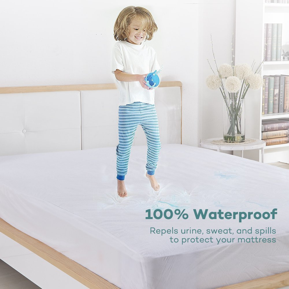 Bed Bugs Mattress Cover Us 17 72 37 Off Turetrip 140x200cm Terry Waterproof Mattress Cover Bed Bugs Dust Mite Mattress Protector For Foam Bed Mattress Pad Cover Matress In