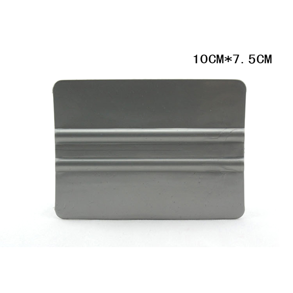 Image 4 - New Arrive Window Tinting Applicators 10*7.5cm Bump Cards Gray Solf Bondo Squeegee For Car Wrapping MO 88-in Car Stickers from Automobiles & Motorcycles
