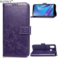 Phone Case For ASUS Zenfone Max M1 ZB555KL Cover Flip Silicone Leather Wallet