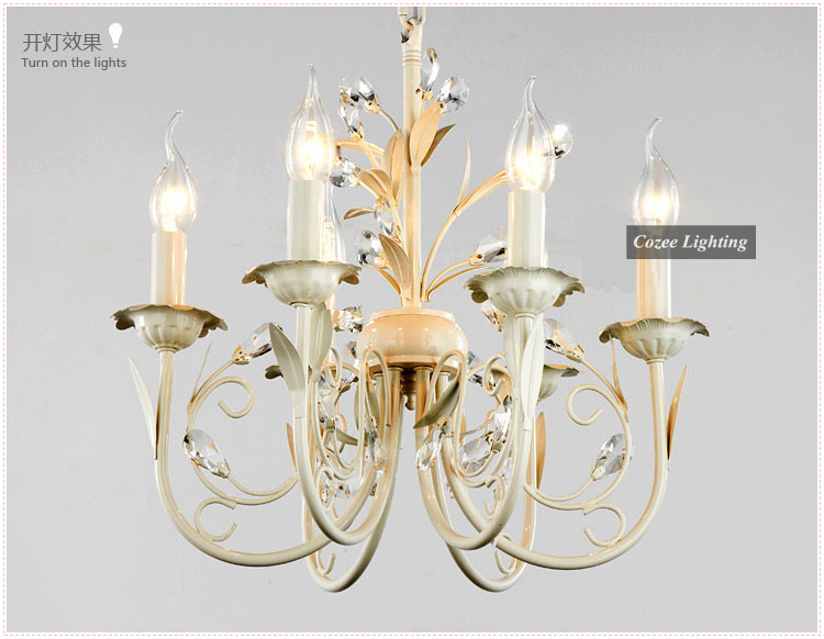 Free shipping fashion crystal chandelier lamp in french provincial free shipping fashion crystal chandelier lamp in french provincial style with 6 arms at wholesale price modelcc n026 6 in chandeliers from lights aloadofball Gallery
