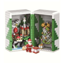 New City Christmas Gift Box Building Blocks Santa Tree Bell Bricks Toys Compatible With Legoings For Children