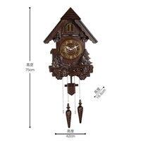 Креативные Cuckoo настенные часы с птицей гостиная детская комната Pow Patrol часы механизм немой настенные часы Relogio Parede подарки WZH429