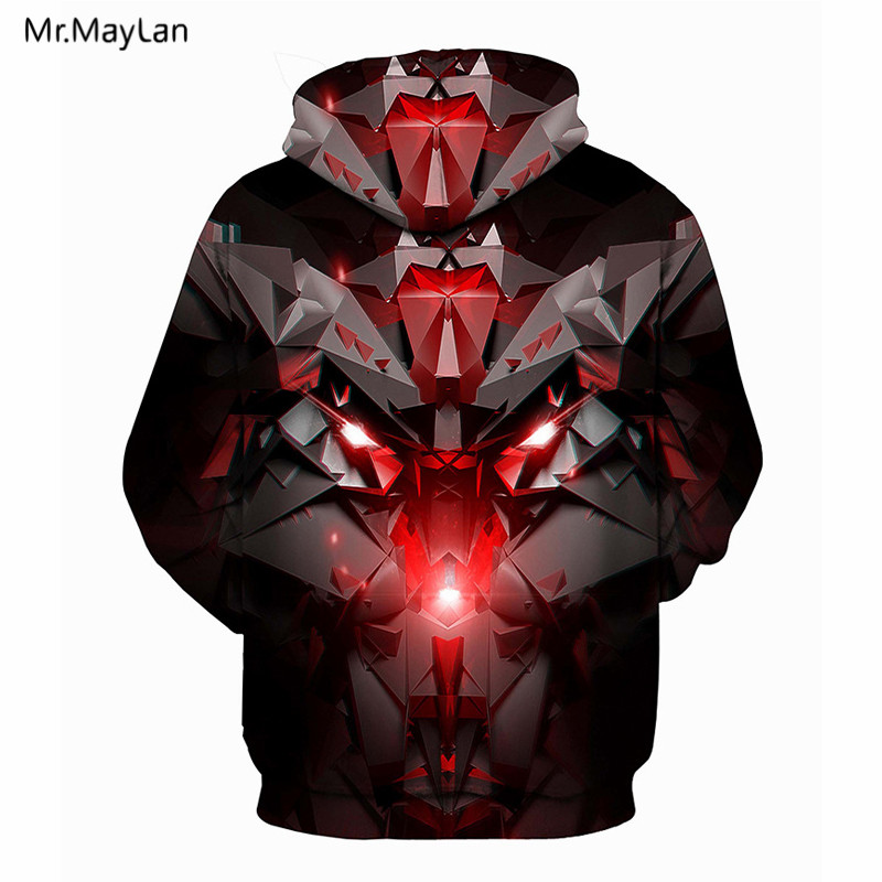 Cool Black Energy Bling Print 3D Jackets Men Women Hiphop Rock Pullover Hoodies Boys Hat Sweatshirts Red Streetwear Outwear 5XL in Hoodies amp Sweatshirts from Men 39 s Clothing
