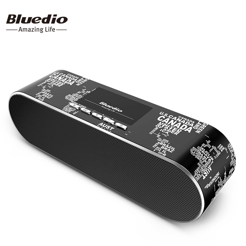 Bluedio New AS Mini Bluetooth speaker Portable Wireless speaker Sound System 3D stereo Music surround for music phone t050 3w mini portable retractable stereo speaker w tf black golden 16gb max