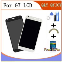 Black Full LCD DIsplay Touch Screen Digitizer Assembly For Huawei Ascend G7 G7 L01 G7 L03