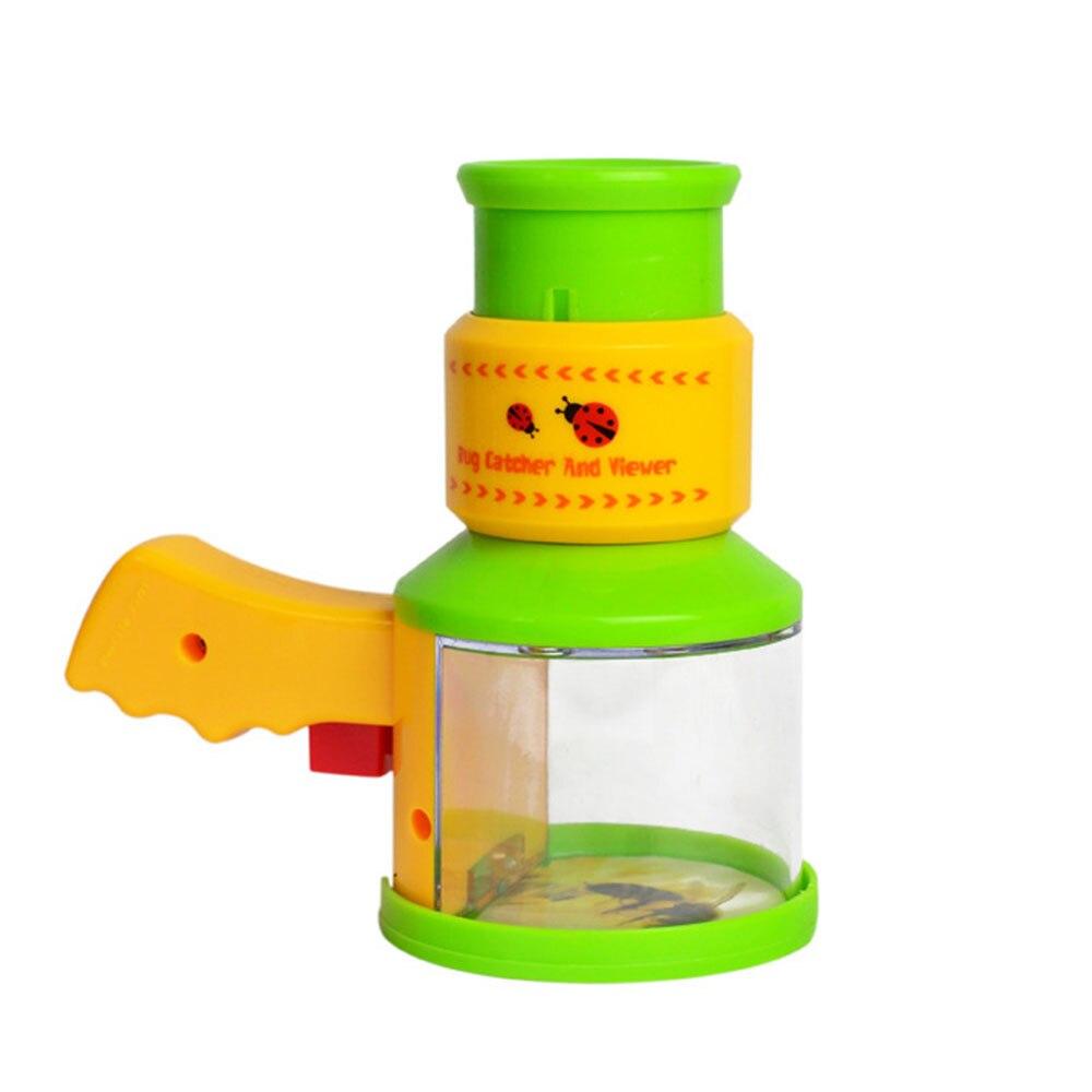 自然探査ツール子供人形グリーン昆虫トラップビューア科学顕微鏡幼稚園教育探査のおもちゃ -