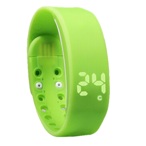 Light Weight Tracker Intelligent Pedometer Bracelet Smart Activity Wristband Motion Record Temperature/Time/Calorie Monitor