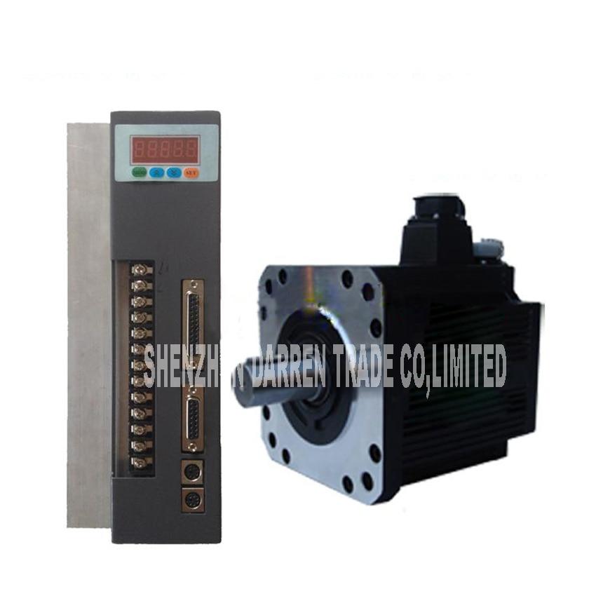 1 pc 380 V 180ST-M27020 AC servo machine 5.7KW 2000/rpm 25-pin connecteur parallèle servomoteur