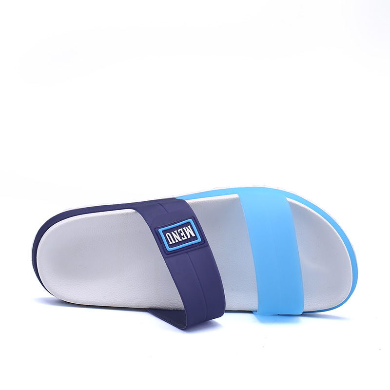 LAISUMK Summer Beach Men Slippers Casual Shoes Double Buckle Man Slip on Flip Flops Flats Camouflage Flip Flop Indoor & Outdoor 81