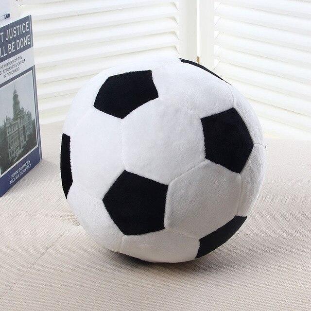 20cm 25cm 40cm Cartoon European Soccer ball cushion decorative pillows kids plush doll Toys gifts for children cojines YMQY3