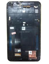 Для Asus Fonepad 7 ME70CX K01A FE170CG ME170C K012 ME170 ME170CX K017 светодиодный ЖК-дисплей Экран Сенсорный экран дигитайзер Ассамблеи рамка