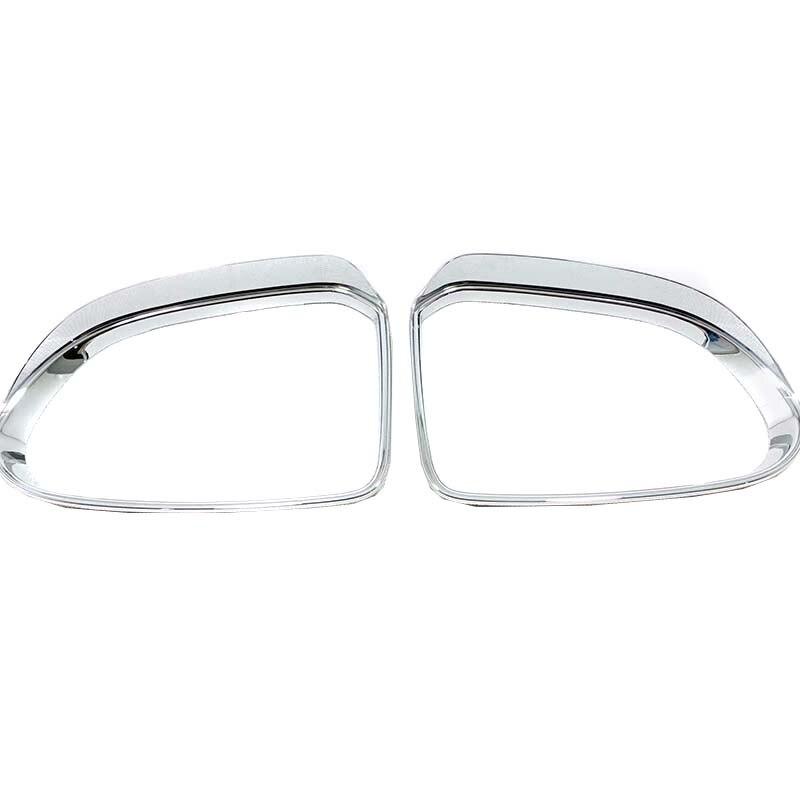Für Hyundai Santa Fe 2019 ABS Tür Seite Flügel Rückspiegel Regen Augenbraue Schild Abdeckung Spiegel Visier Schatten Trim auto Zubehör-in Chrom-Styling aus Kraftfahrzeuge und Motorräder bei Shop1273095 Store