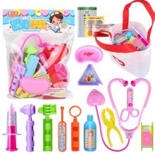 Role Play Nurse Doctor Set For Kids Medical Bag Toy Pretend Play Children's Toys Games For Girls Doctor Kit Funny Toys For Girls