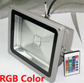 10W Waterproof Floodlight Landscape Lamp RGB LED Flood Light Outdoor 110V 220V 85-265V LED Flood Lamp 1pcs free shipping