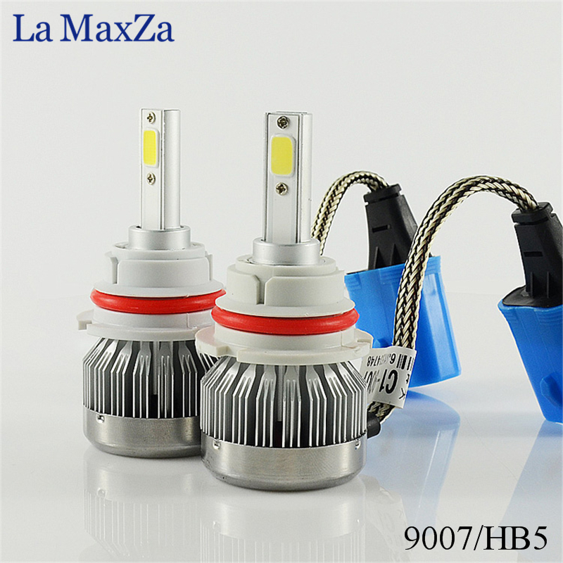 La MaxZa Car Headlight H7 H4 LED H8/H11 HB3/9005 HB4/9006 H1 H3 9012 H13 9004 9007 60W 6000lm Auto Bulb Fog Headlamp 6000K Light led h4 h7 h11 h1 h10 hb3 h13 h3 9004 9005 9006 9007 cob led car headlight bulb 80w 8000lm 6000k auto headlamp 200m light range