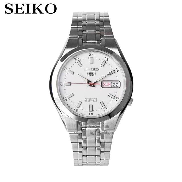 da1678362b3 SEIKO Relógio Dos Homens de Aço Automáticas Made in JAPAN SNKG17J1 5  SNKG19J1 SNKG21J1 SNKG23J1 SNKG31J1