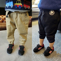 2-9 years old baby kids 80 cm - 130 cm child Spring casual pants boy cotton harem pants hip hop jogger biker swag sweatpants