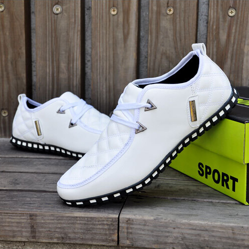 GOXPACER Autumn Winter Casual Shoes Men Flats Lacing Cotton