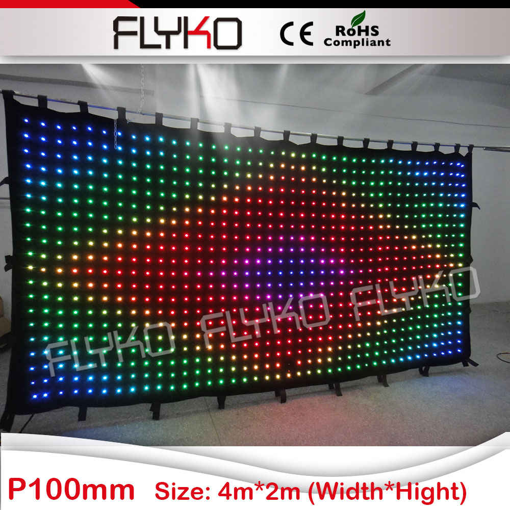 free shipping party decorations 2x4m led lamps drape with edit software