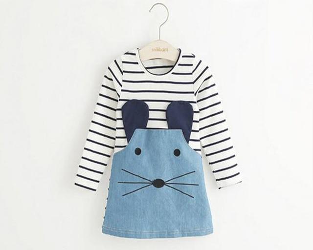 Summer Cartoon Cat Baby Clothing Set Of Cute Point Short Sleeve
