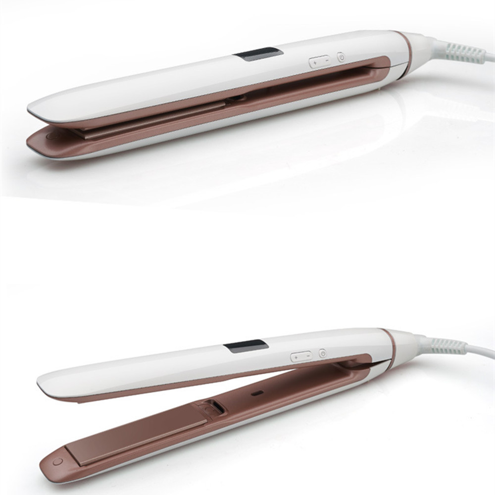 Straight perm hair care - Straight Hair Digital Display Thermostat Perm Ceramic Plywood Does Not Hurt The Hair Straight Dual Roll