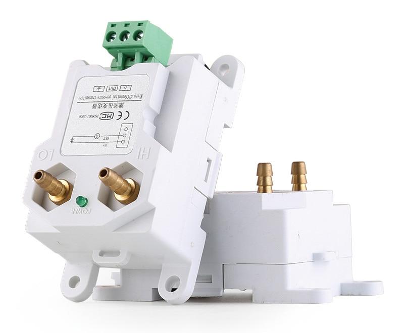 CCY18 Differential Pressure Transmitter 4-20mA 0-10VDC RS485 Air Pressure Sensor Inlet differential pressure transmitter sensor wind air pressure sensor 4 20ma 0 5v wind pressure transducer 0 100kpa
