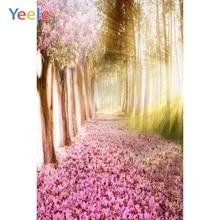 Yeele Alise Princes Wonderland Fallen Flowers Road Photography Backgrounds Personalized Photographic Backdrops For Photo Studio
