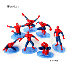 cupcake toppers dolls spiderman toys avengers party supplies baby kids children birthday decoration cake topper