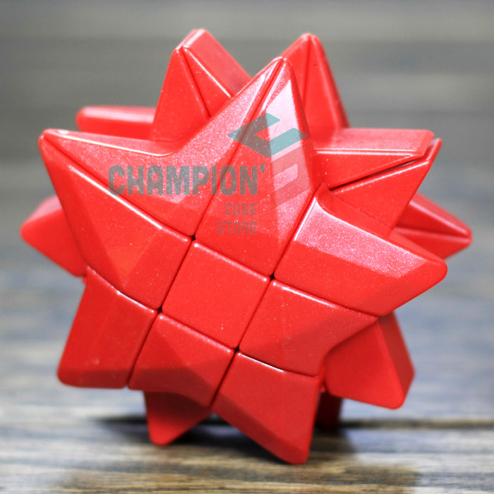 YJ  Puzzle Star Magic Cube Yellow And Blue And Red Learning&Educational Cubo Magico Toys