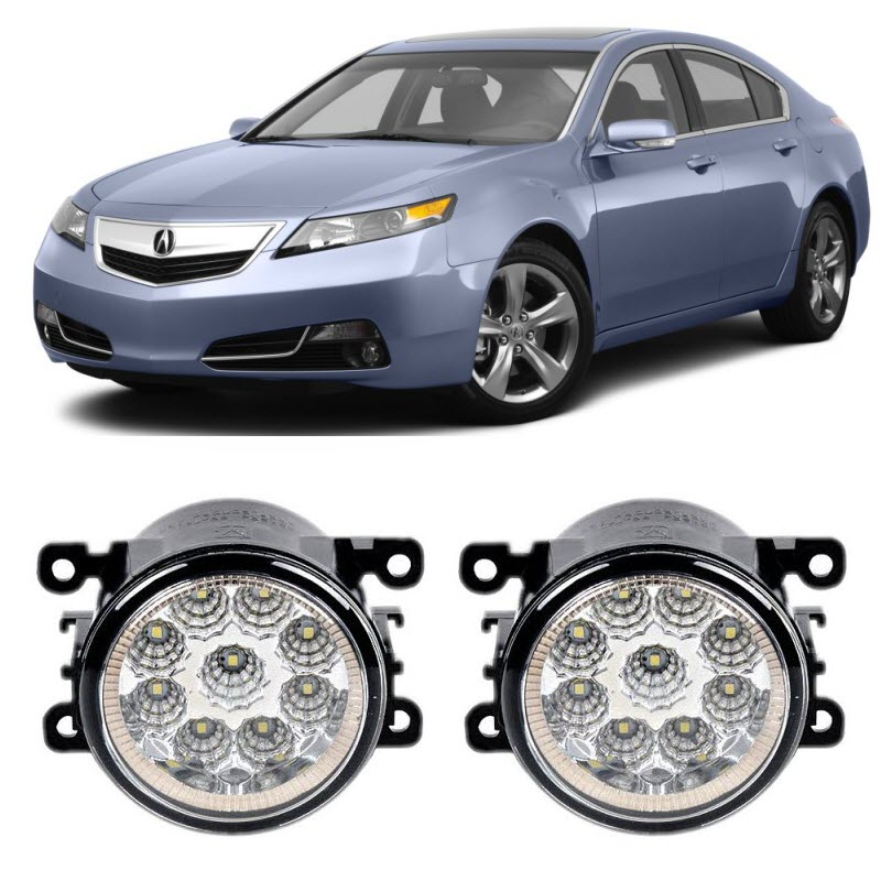 Car Styling For Acura TL 2012 2013 2014 9 Pieces Led Fog