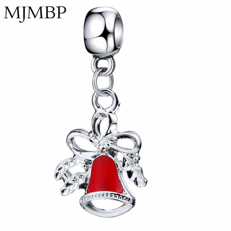 New Christmas Fine DIY Pendant Charms Nice Fashion Beads Fit Pandoraa Gift For Bracelet & Necklaces Jewelry making Women Gifts